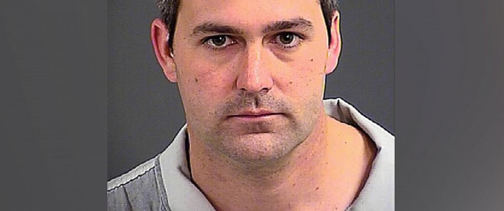 PHOTO: Michael Slager is seen in a booking photo released by the Charleston County Sheriffs office on April 7, 2015.