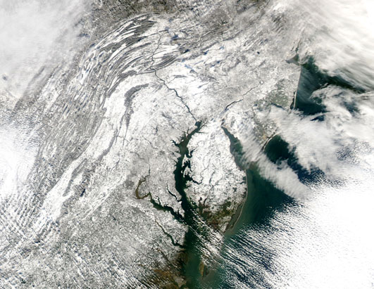 Snowstorm Hits the Northeast