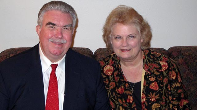 PHOTO: Mike and Cynthia McLelland are seen at their home in this undated family photo.