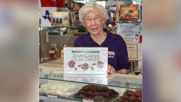 ht mildred walston candy sr 131227 16x9 608 Texas Woman Marks Sweet 73 Years Behind Candy Counter