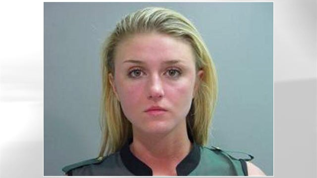 PHOTO: Miss University of Arkansas winner Sarah Gafvert could lose her crown after September arrest.