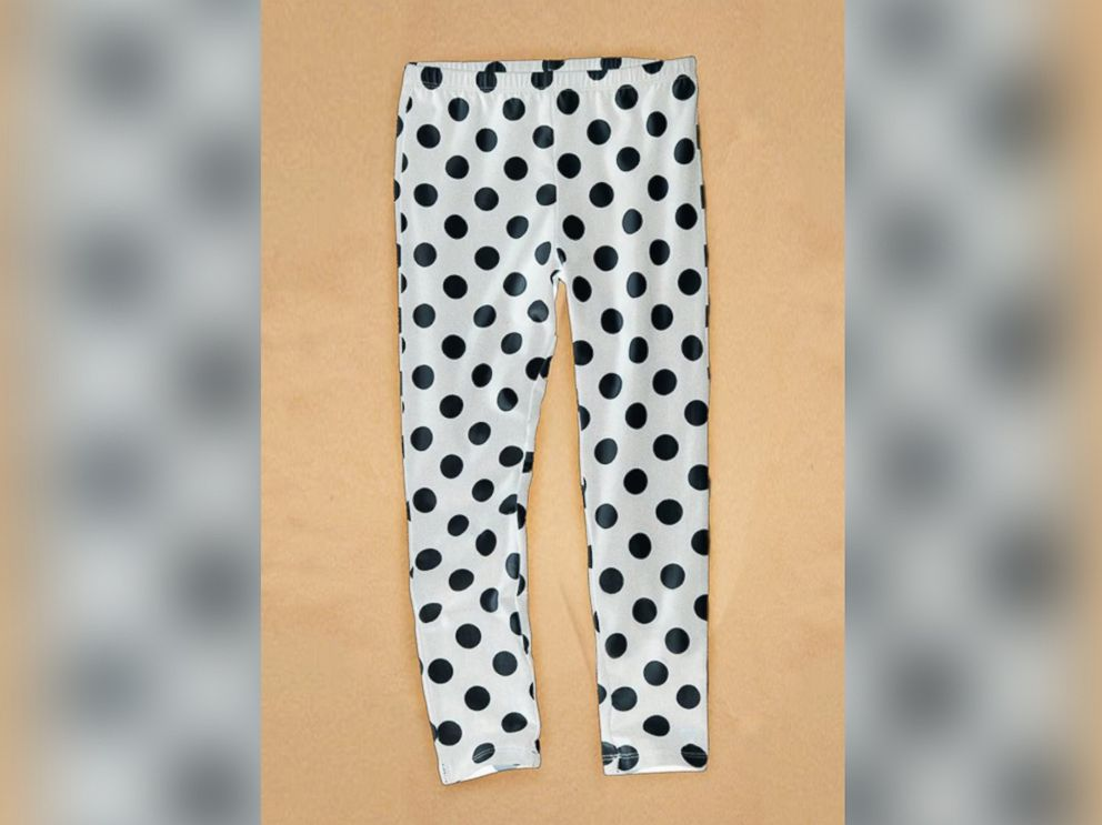 PHOTO: The Massachusetts State Police released an image of the leggings the girl was wearing when found.