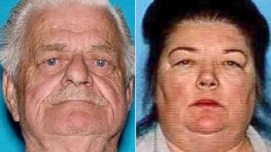 PHOTO: Cecil Knutson, 79, and Dianna Bedwell, 68, were found in Los Coyotes Indian Reservation near Warner Springs, California on May 24, 2015.