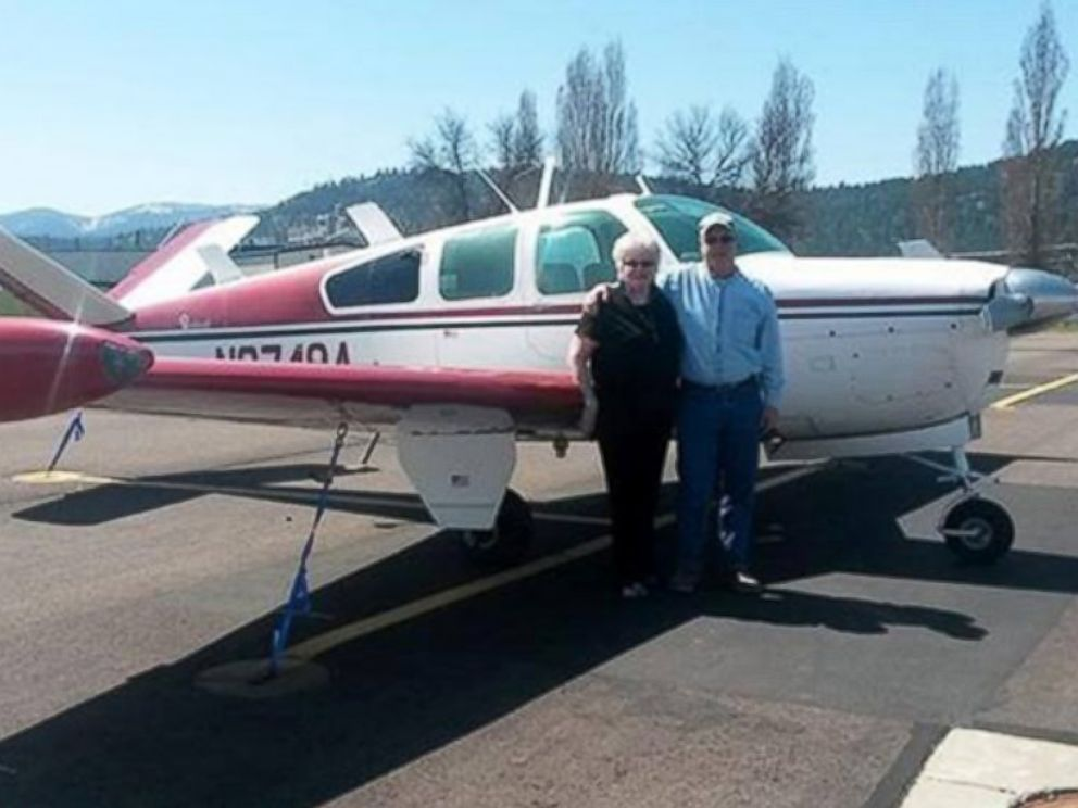 PHOTO: The Washington State Department of Transportation released this image of the plane that went missing en route to Lynden, Wash. on Jan. 11, 2015.