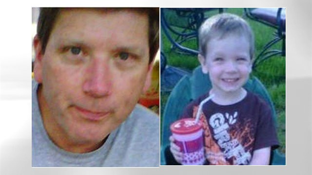 PHOTO: Monty Turner, left, and his 3-year-old son, Luke Turner are shown in this photo provided by Longmont Police Department.