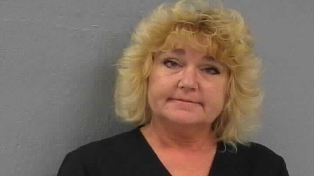 PHOTO: Diane Elaine Greer is accused of paying an undercover cop to kill her boyfriends ex-wife.