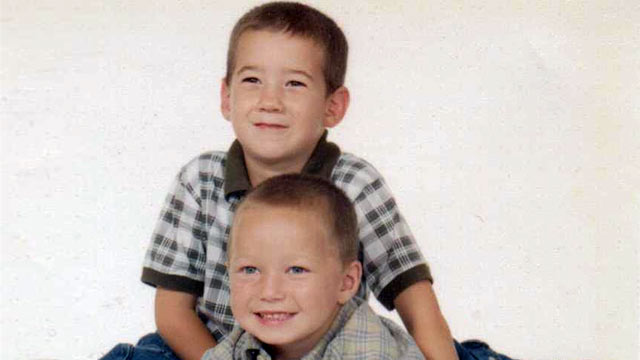 PHOTO: Ned, 7, and his younger brother Aaron, 4, both have mental health issues.