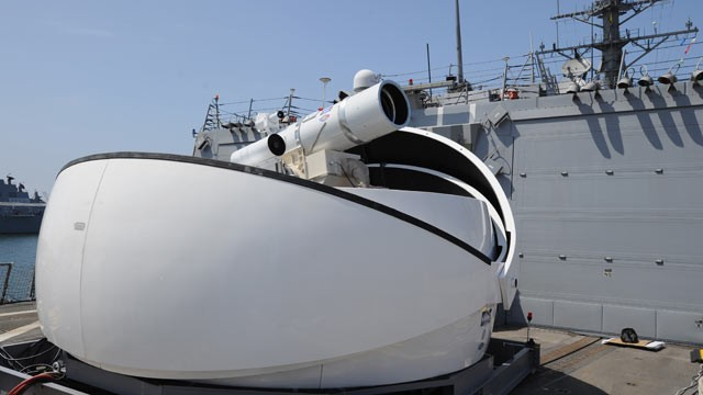 The Navy's New Laser Weapon, the Weapon of Tomorrow Now Reality - ABC