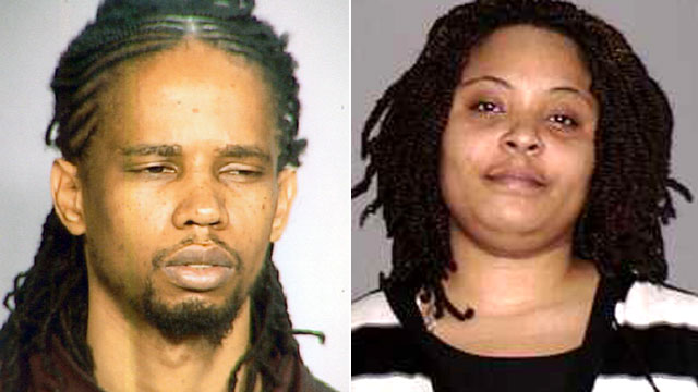 PHOTO: Shanel Nadal, right, is accused of kidnapping her eight kids from a supervised visit at a foster care center in Queens. Police believe she is with the childrens father, Nephra Payne.