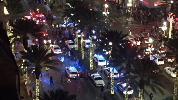 1 dead, 9 injured in New Orleans Bourbon Street shooting