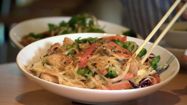 "PHOTO: Noodles and Companys Bangkok Curry noodle dish. CEO Kevin Reddy sees his ""fast casual"" restaurant chain as the future of American cuisine."