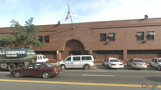 PHOTO: 115th Precinct of New York Police Department in Queens, NY.
