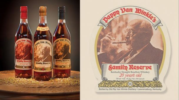 PHOTO: Pappy Van Winkles Family Reserve 20 Year was rated the No. 1 bourbon whiskey in the world by the World Spirits Championship.