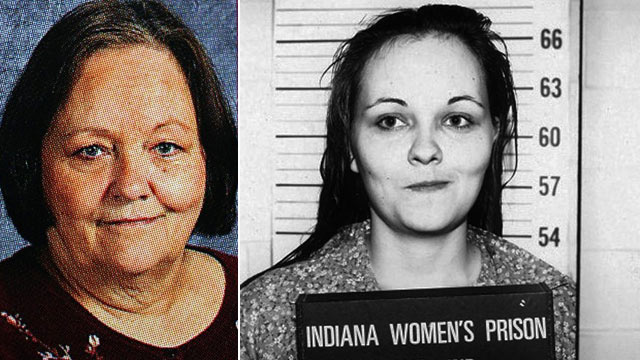 PHOTO: Paula Banizewski is shown in this Aug. 23, 1971 booking photo. On the right, Paula Pace is pictured in an undated BCLUW yearbook photo.