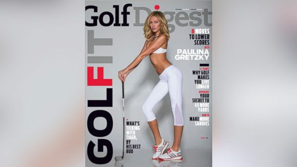ht paulina gretzky golf digest 2 sr 140404 16x9 608 Paulina Gretzkys Golf Digest Cover Isnt Her First Provocative Photo