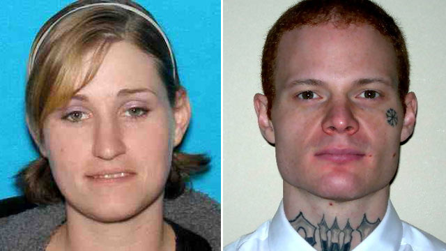 PHOTO: When Holly Grigsby and Joseph Pedersen were captured, they were wanted in connection with a murder
