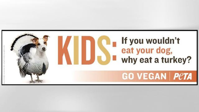 PHOTO:&nbsp;A recent PETA advertisement.