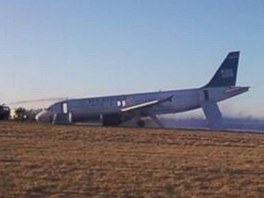 Plane Blows Tire Taking Off from Philadelphia Airport
