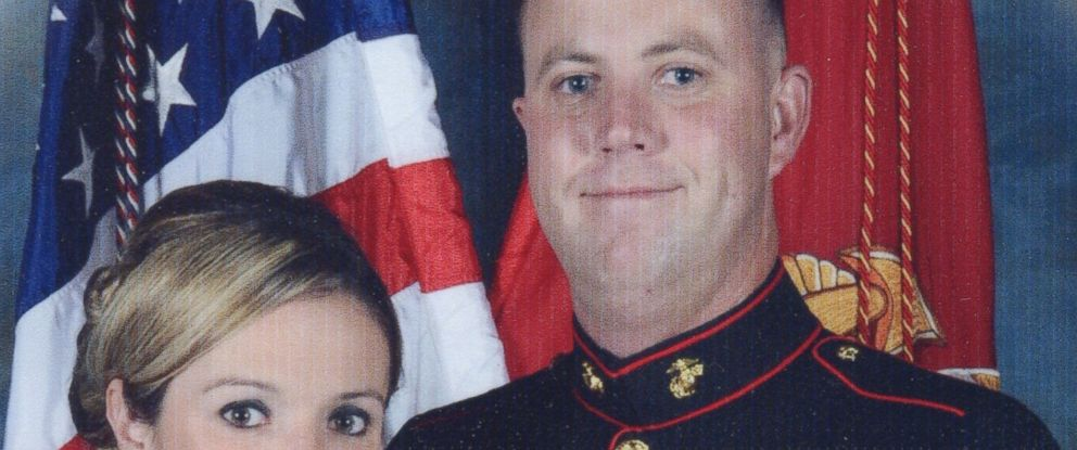 PHOTO: Marine Jason Plummer said he had troubles with a home alarm company when he moved off base.