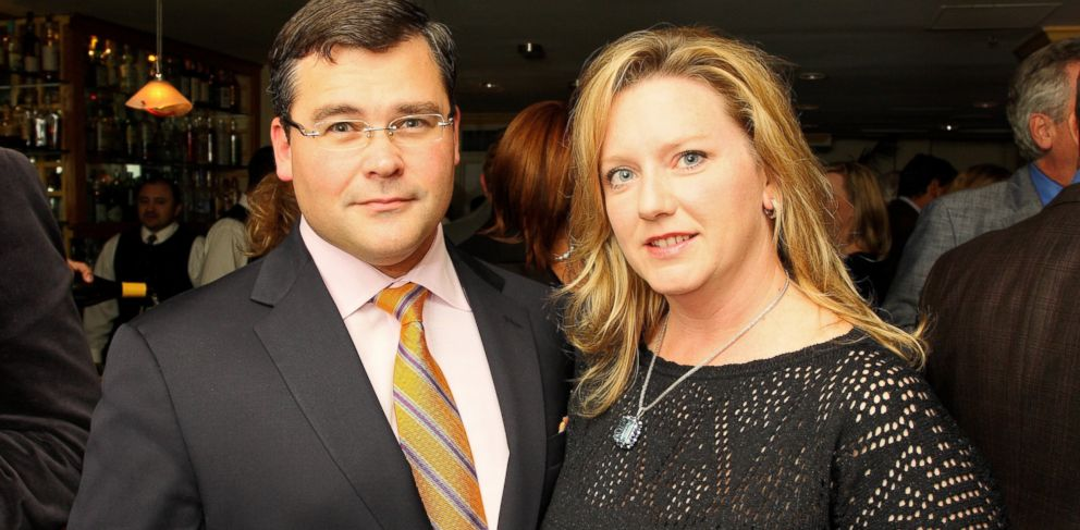 PHOTO: Savvas and Amy Savopoulos at the Starlight Children's Foundation MidAtlantic's Wine Dinner in 2008.