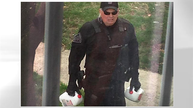 PHOTO: police milk