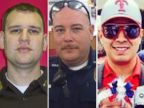 PHOTO: Officer Michael Krol, Officer Brent Thompson and Officer Patrick Zamarripa were shot and killed at a protest in Dallas, Texas, July 7, 2016.