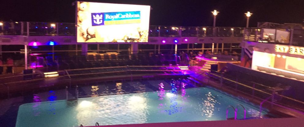 PHOTO: The pool on the cruise ship where an accident involving an 8-year-old happened on June 20, 2016. Passenger Jacob Triplett took this photo.