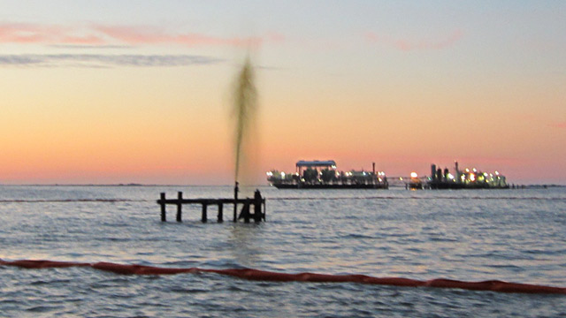 Coast Guard Responds to Gulf Oil Spill