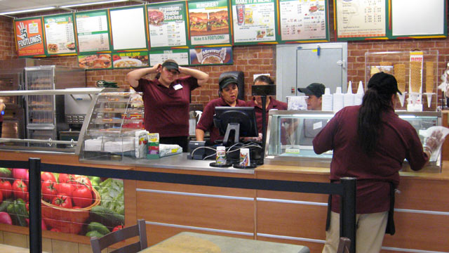 PHOTO: Two Subway restaurants on the Pine Ridge Indian Reservation are thriving.