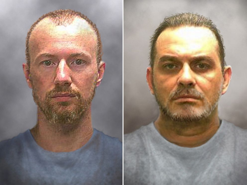 PHOTO: The New York State Police released photos of what the inmates may look like after 10 days.