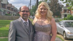 PHOTO: Tanya Kach, 31, went to the prom she never had on June 1, 2013 in Pittsburgh, Penn. Kach was held captive for 10 years when she was 14 years old, beginning in 1996.