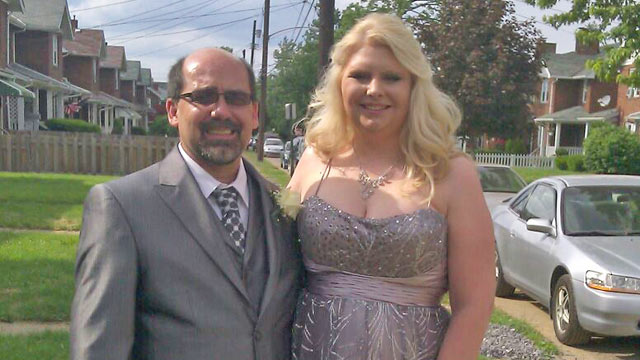 PHOTO: Tanya Kach, 31, went to the prom she never had on June 1, 2013 in Pittsburgh, Penn. Kach was held captive for 10 years when she was 14 years old, b