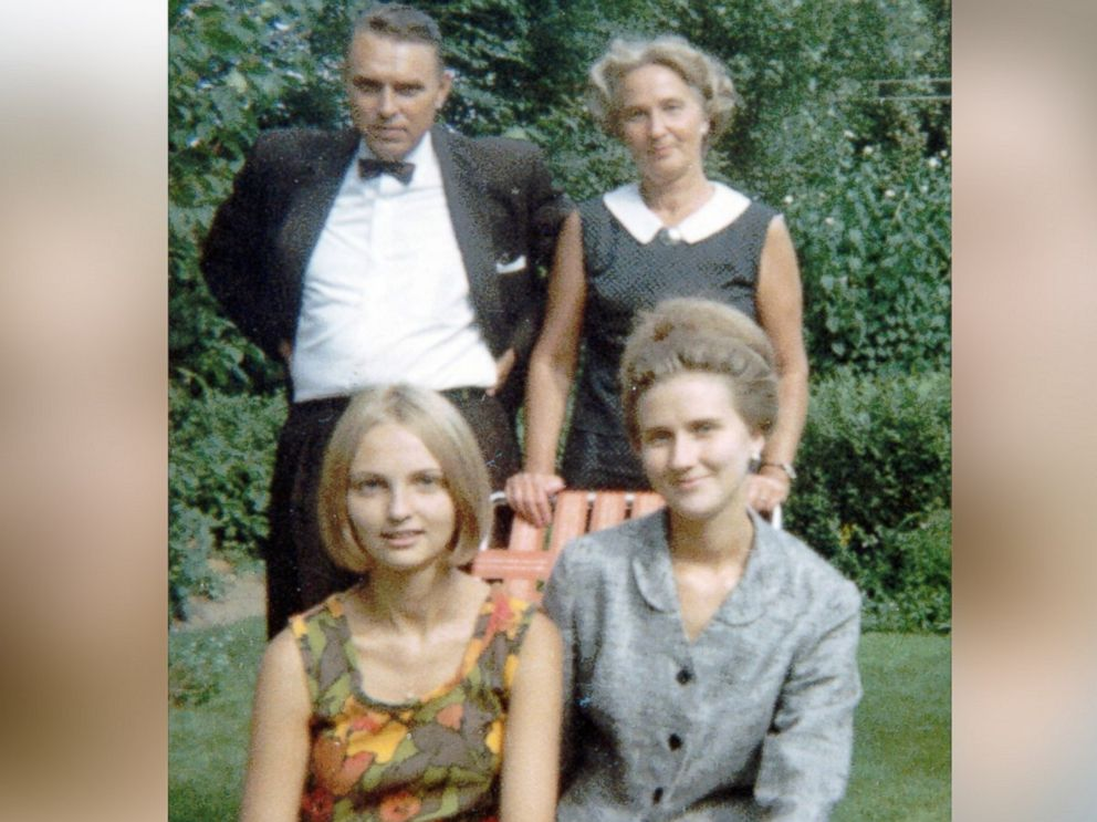 PHOTO: Reet Jurvetson is picture with her parents and sister, Anne, in 1967.