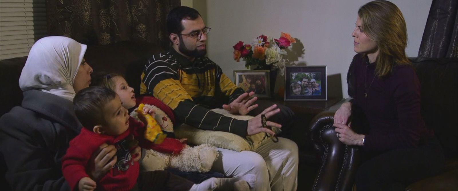 "On Sunday, Abdallh Khadra said his 3-year-old daughter Muna was declared ""ineligible"" for U.S. entry."