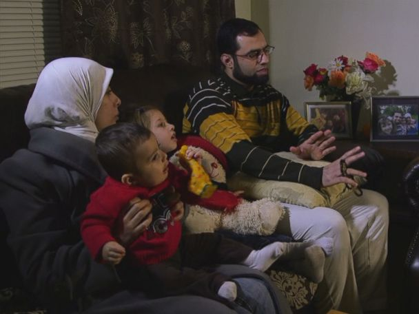 4-year-old Syrian girl reunites with family in US after months apart