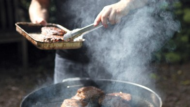 PHOTO: Boneless rib eye recipe excerpted from Charred & Scruffed by Adam Perry Lang.