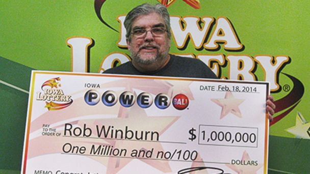 ht rob winburn sr 140219 16x9 608 Lucky $1 Million Powerball Winner Played Same Numbers for 20 Years