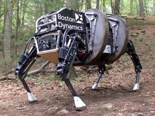 Four-Legged Robot Could Help Military Handle Rough Terrain
