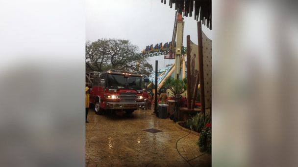 ht roller coaster kab 140212 16x9 608 Cheetah Hunt Passengers Rescued from Busch Gardens Ride