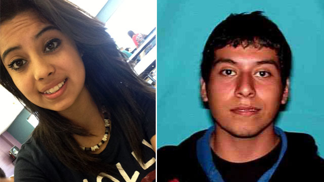 PHOTO: An Amber Alert has been issued for Ruby Zavala,14, left. Police believe she may be with Jesus Ramirez, 22.