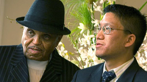 PHOTO Joe Jackson is pictured with Rutt Premsrirut in this file photo.