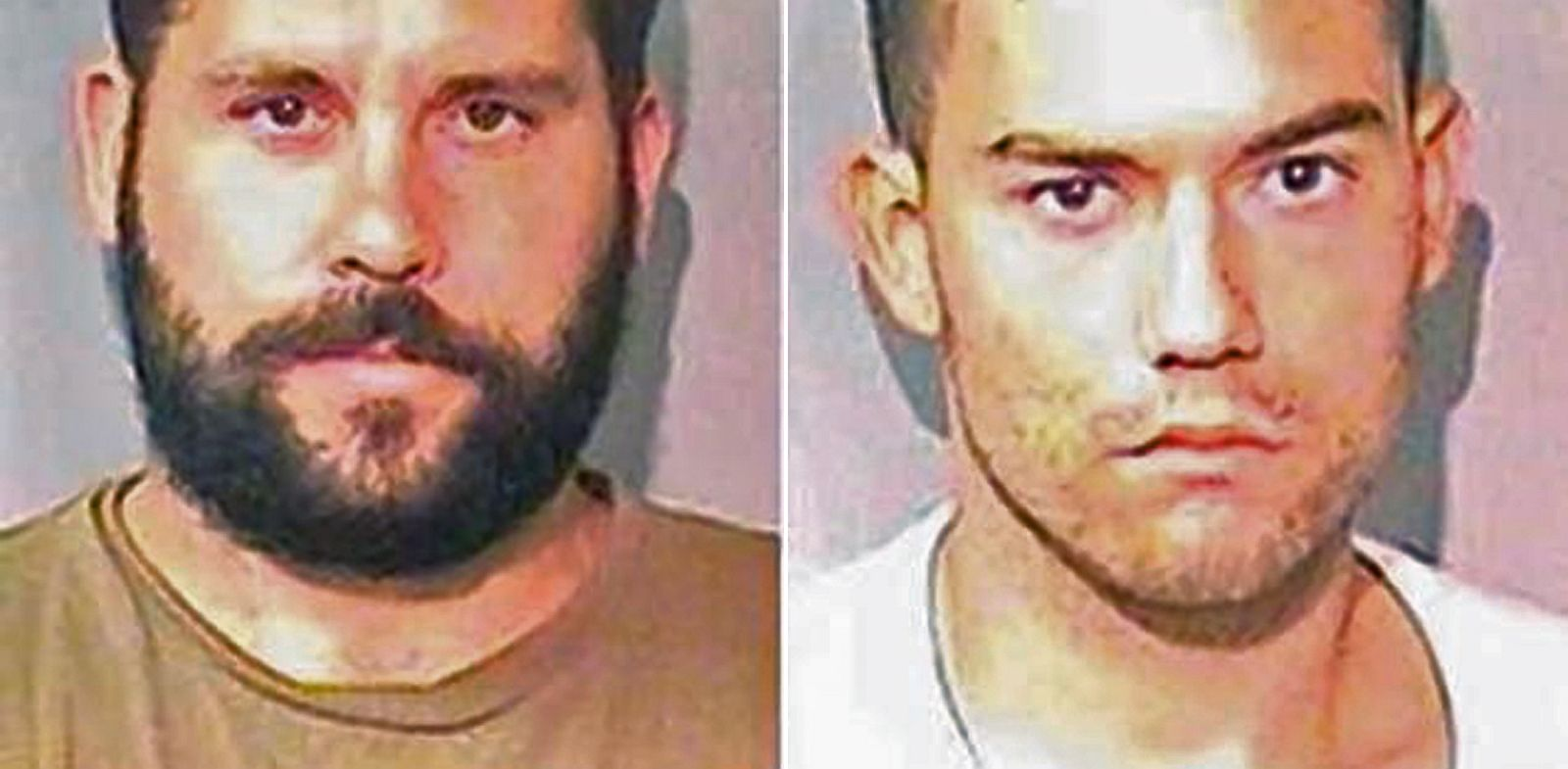 PHOTO: Ryan Balletto and Patrick Pearmain mugshots