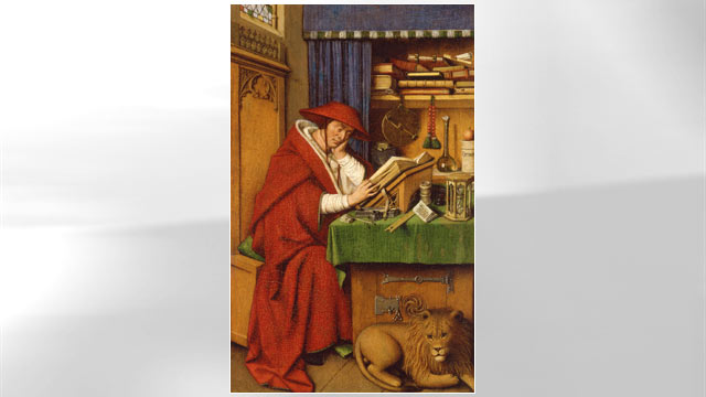PHOTO: Saint Jerome in his Study, Jan van Eyck