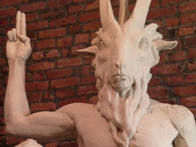 Satanist Statue: Ready as Hell but No Place to Go?