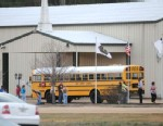 PHOTO: A school bus driver was shot inside a bus in Dale County, Alabama, Jan. 29, 2013.