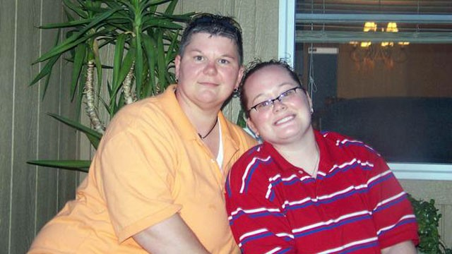 PHOTO: Angela Bauer and Jennifer Schreiner, of Kansas, are seen in this undated MySpace photo.