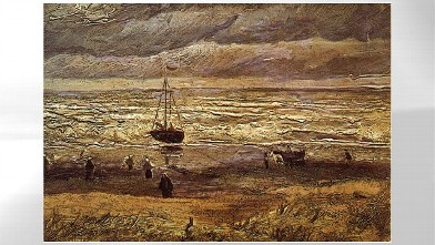 PHOTO: View of the Sea at Scheveningen by Van Gogh.