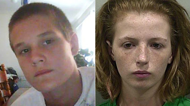 PHOTO: Victim Seath Tyler Jackson and accused murderer Amber Wright