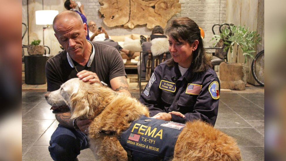 Last Known Living 9/11 Rescue Dog Honored