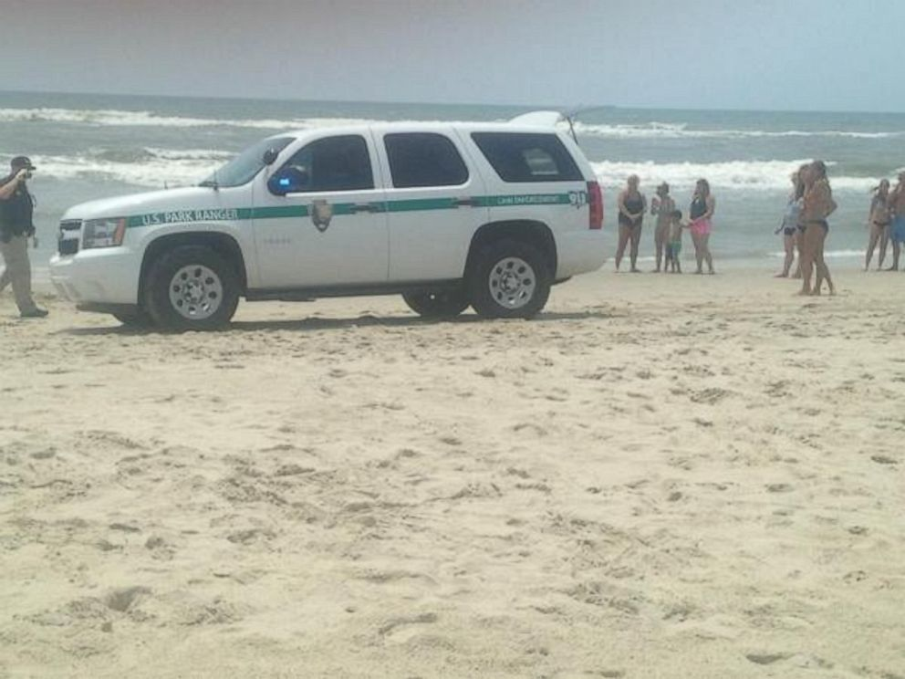 PHOTO A Man Was Taken To The Hospital After He Attacked By Shark